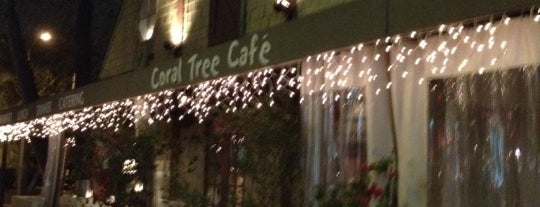 Coral Tree Cafe is one of WiFi-friendly and/or Laptop-ready in SFValley+.