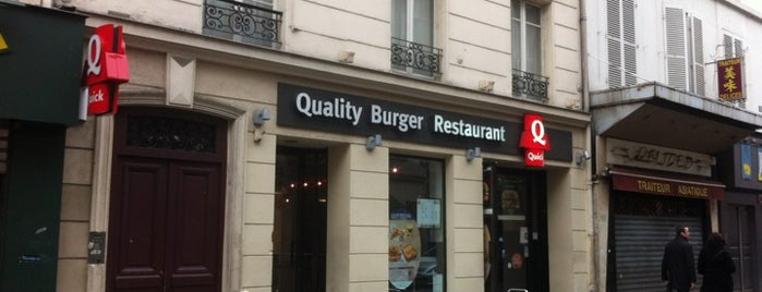 Quick is one of France.