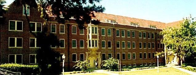 Jennie Murphree Hall is one of Residence Halls.