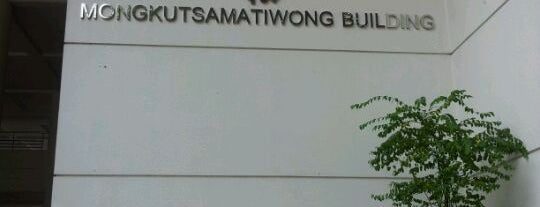 Mongkutsamatiwong Building is one of Chulalongkorn University.