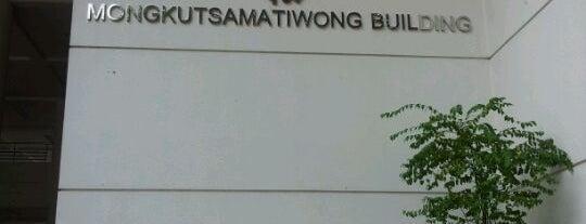 Mongkutsamatiwong Building is one of Chulalongkorn University.