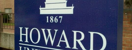 Howard University is one of Civil Rights Moments.
