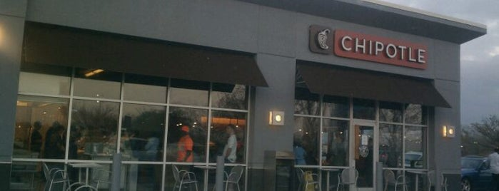 Chipotle Mexican Grill is one of Sassy's Favorites.