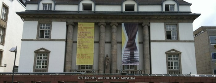 Deutsches Architekturmuseum (DAM) is one of Must-visit Art Galleries in Frankfurt am Main.