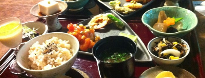 自然食料理 北鎌倉 笹の葉 is one of Herbivoreバッジを手に入れろ.