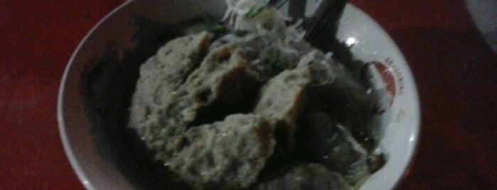 bakso sadewo cak mun bungkul is one of Favorite Food.