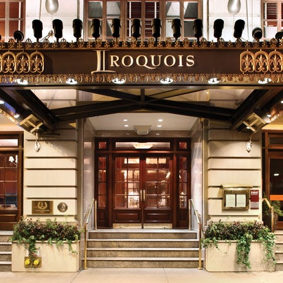 Photo of The Iroquois New York Hotel