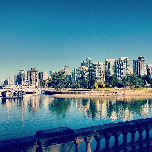 Stanley Park Harbourfront Seawall