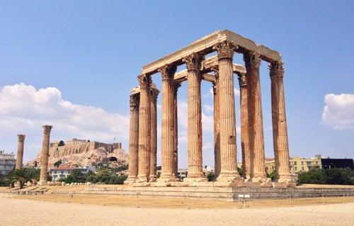 Ναός Ολυμπίου Διός (Temple Of Olympian Zeus)