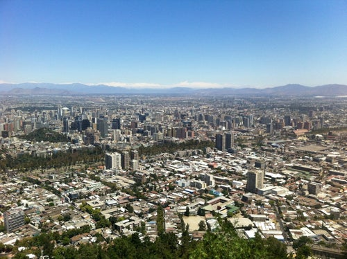 Cumbre Cerro San Cristóbal