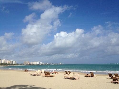 Beach @ El San Juan Hotel