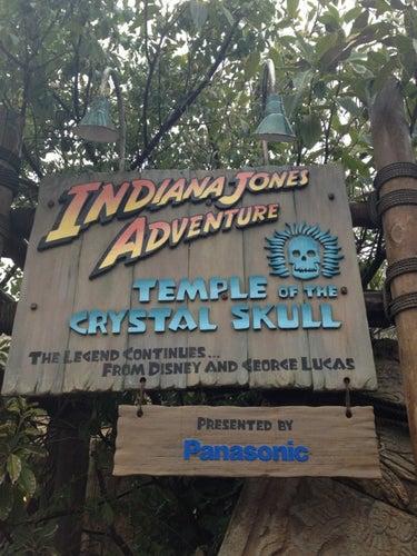 インディ・ジョーンズ・アドベンチャー:クリスタルスカルの魔宮 (Indiana Jones Adventure : Temple of the Crystal Skull)