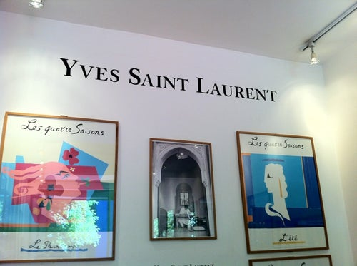 Yves Saint Laurent Memorial
