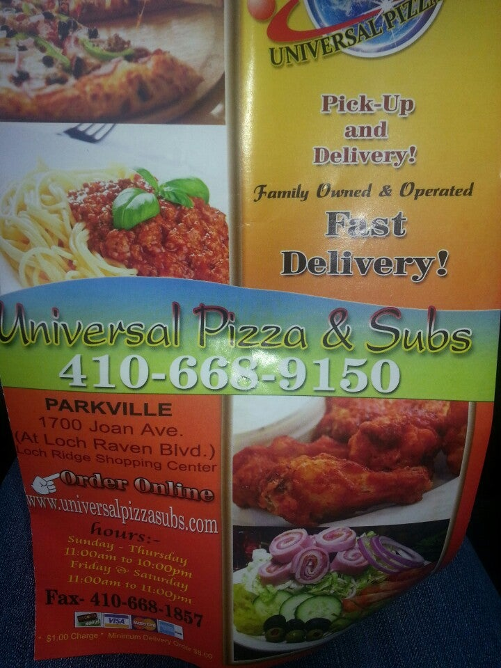 Universal Pizza & Subs,