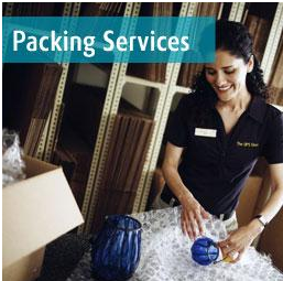 The UPS Store,business cards,comb binding,copies,electronic fingerprinting,faxes,laminating,mailbox service,mobile print location,packing,rubber stamps,scanning,shipping,stamps
