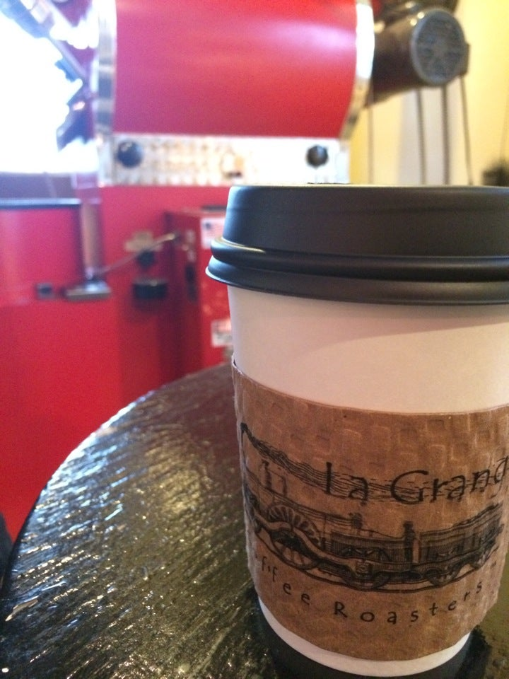 La Grange Coffee Roasters, ky,biscotti,bluegrass jam on monday nights,coca-cola  in a glass bottle,coffee,coffee roastery,coffee shop type treats,cold brewed coffee,fresh roasted coffee right on site!,full coffee & espresso bar,in lagrange,latte's,scones