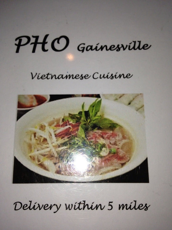 Pho Gainsville,