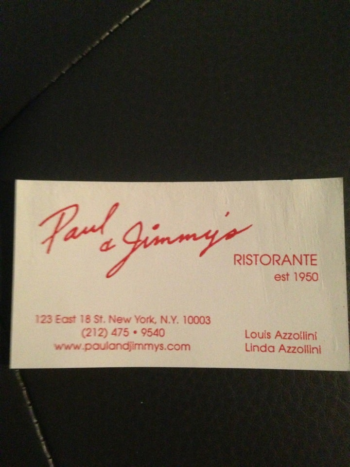 Paul & Jimmy's Restrnt,