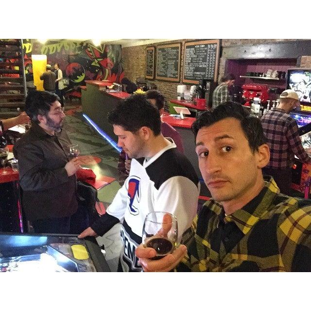 Kickback Pinball Cafe