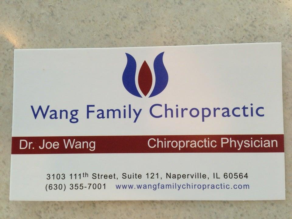 WANG FAMILY CHIROPRACTIC,chiropractor
