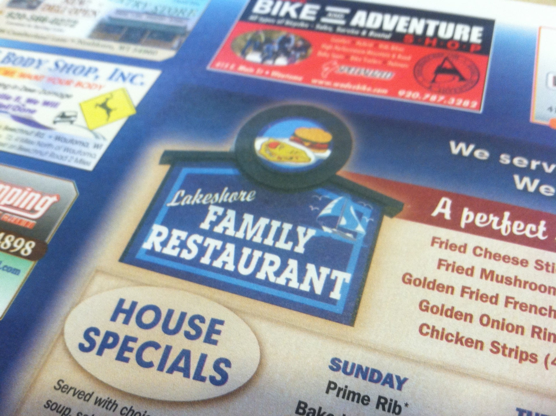 Lakeshore Family Restaurant,