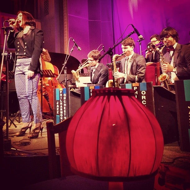 Меню в филармония джазовой музыки