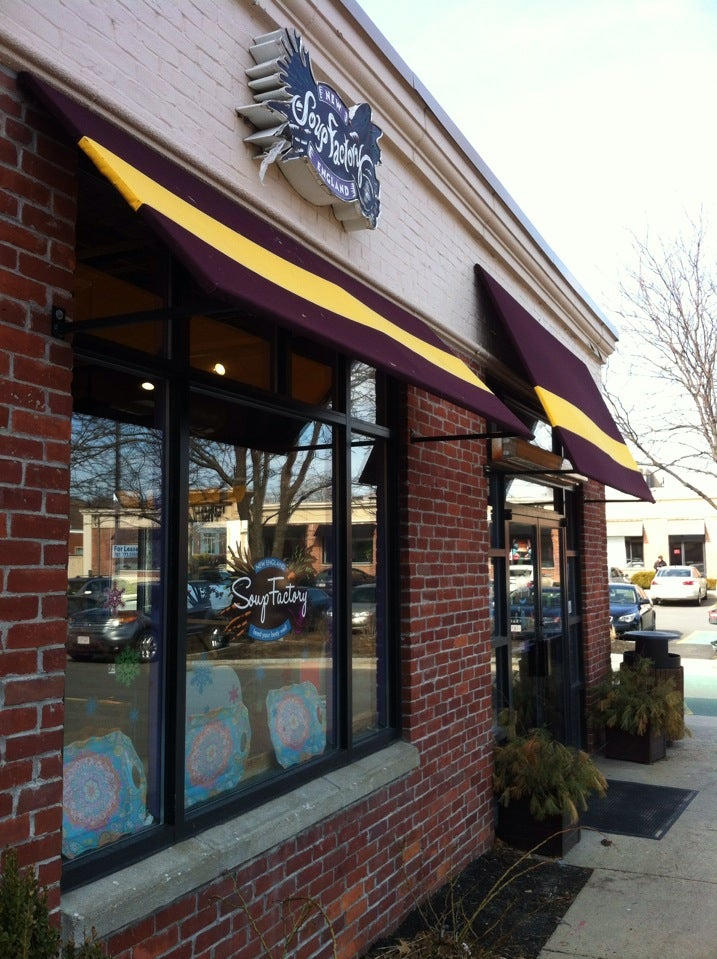 New England Soup Factory,sandwiches,soup