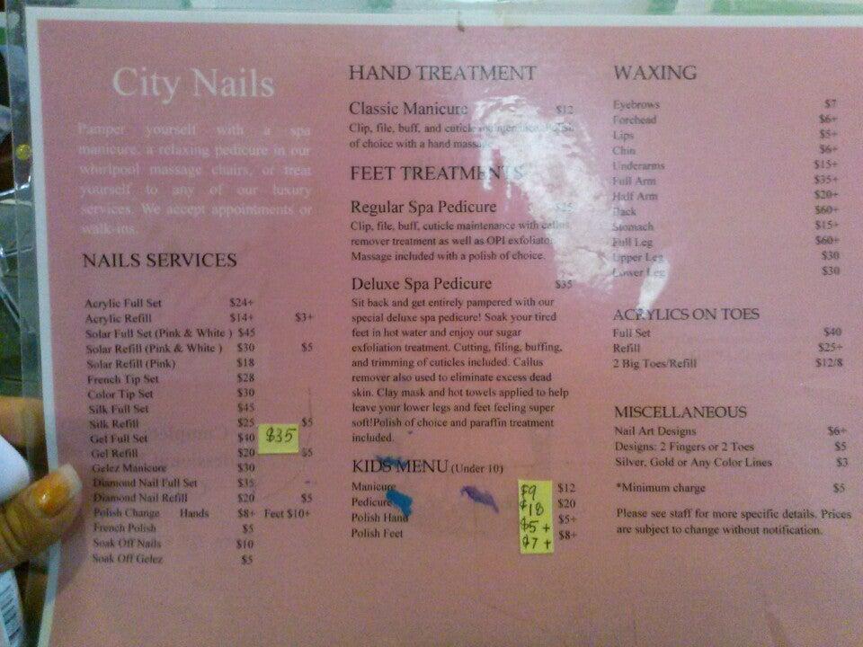 City Nails,
