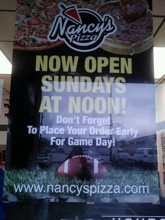 NANCY'S PIZZA,