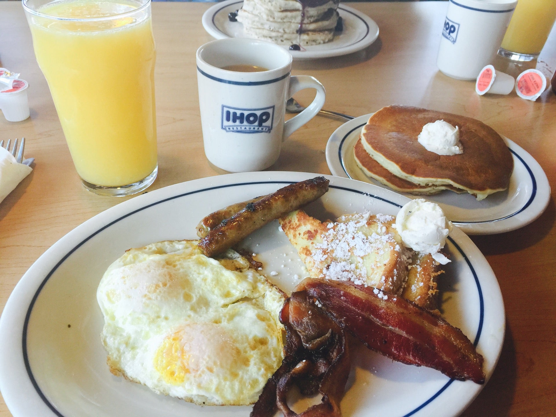 IHOP,free gift from store next door