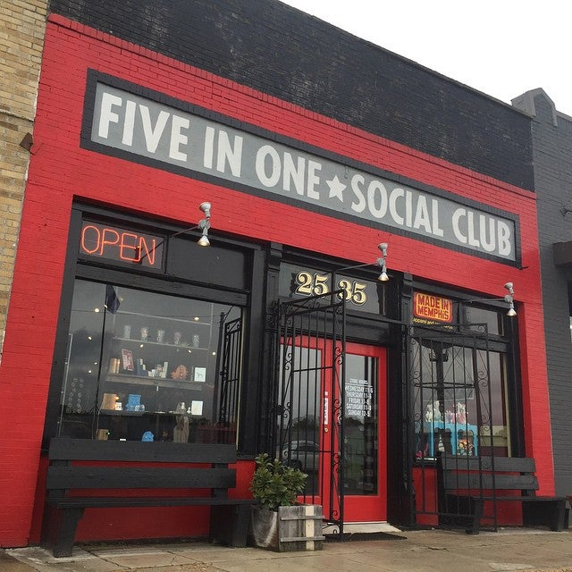 Five In One Social Club,five in one, vini, memphis, art collective, social