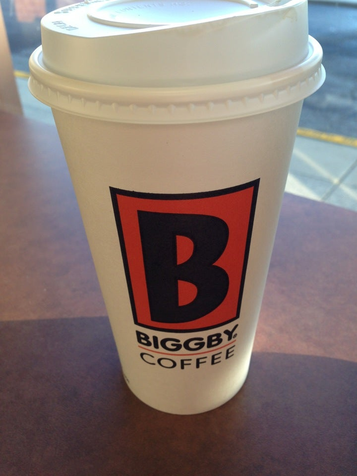 BIGGBY COFFEE,the best coffee in the world,the butter bear is amazing