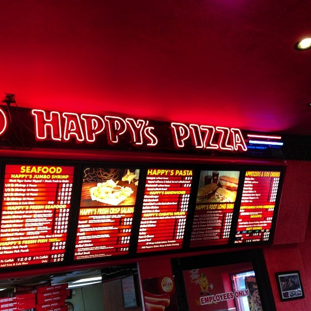HAPPY'S PIZZA,pizza