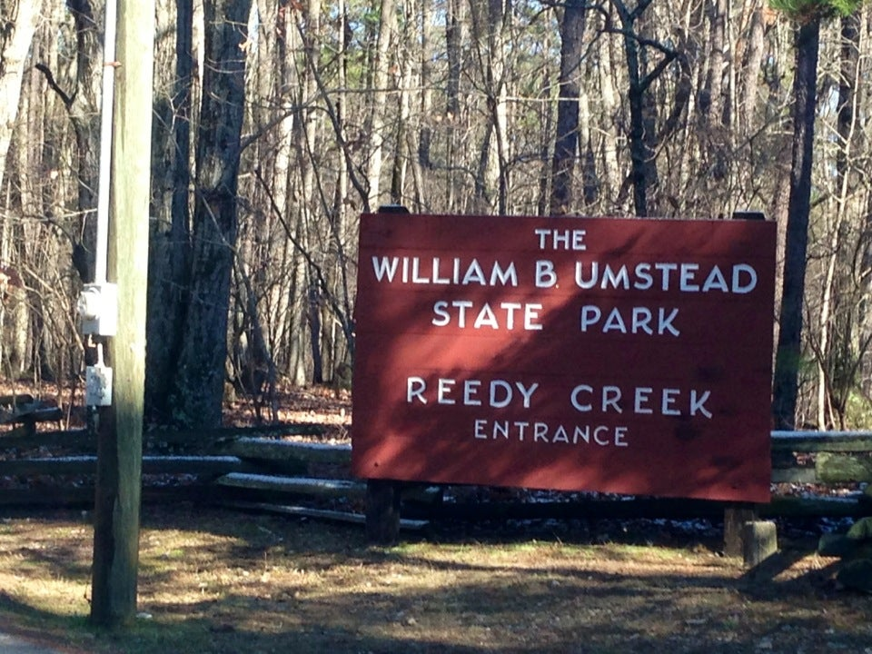 William B Umstead State Park - Reedy Creek Entrance