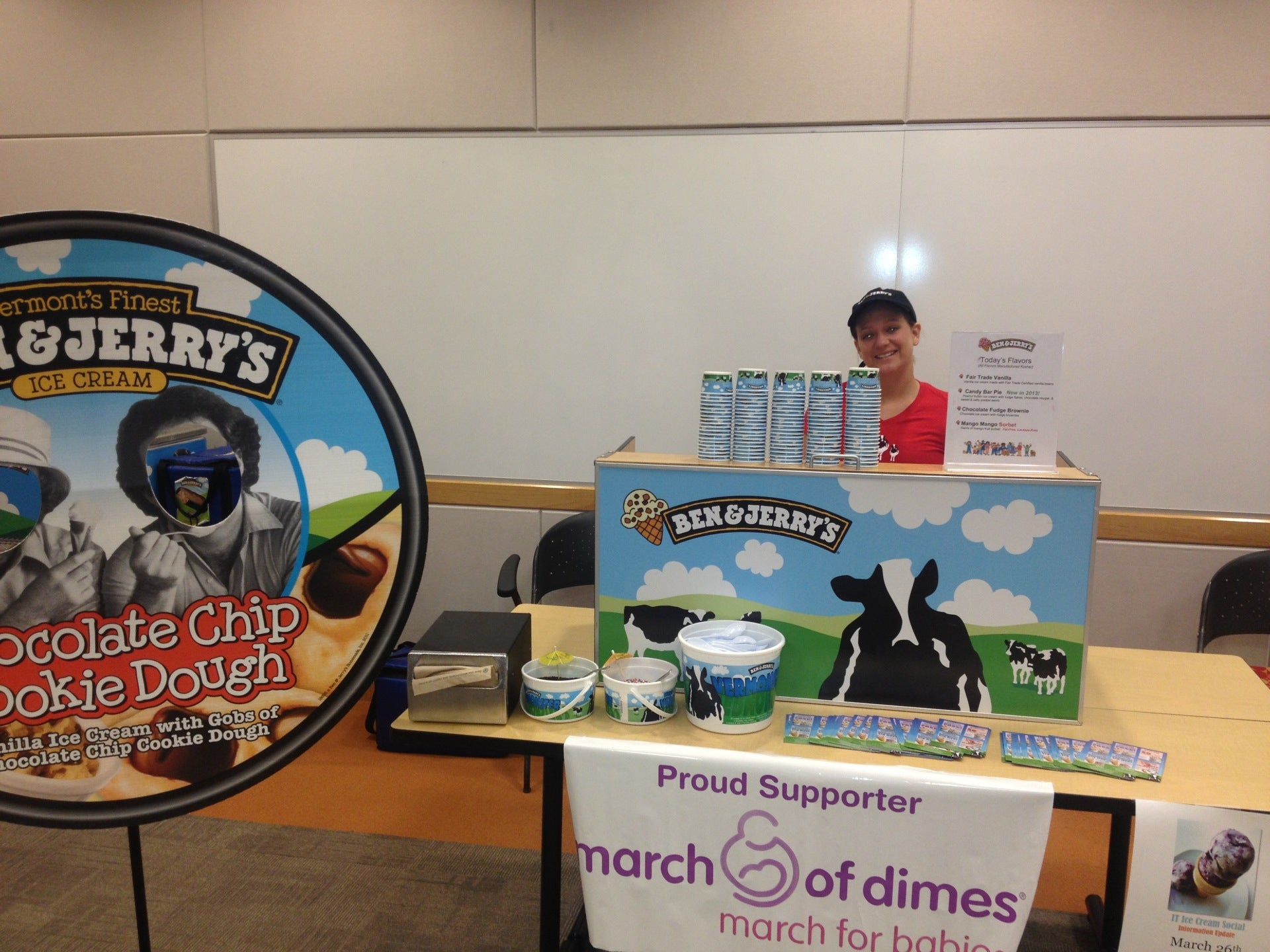 Ben & Jerry's,catering,frozen yogurt,icecream,milkshakes