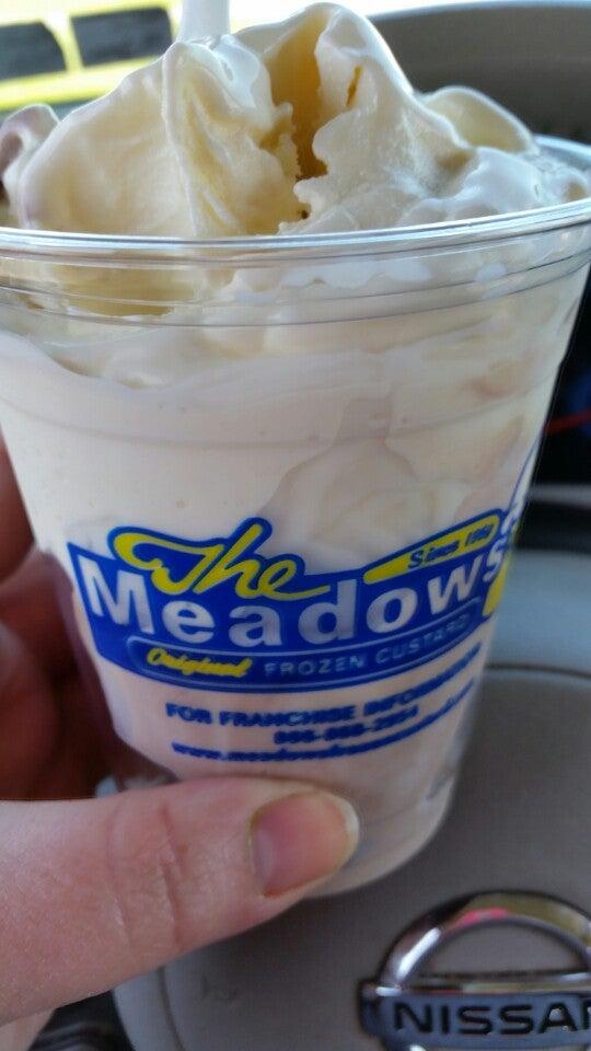 The Meadows Original Frozen Custard,frozen custard,frozen yogurt,sundaes