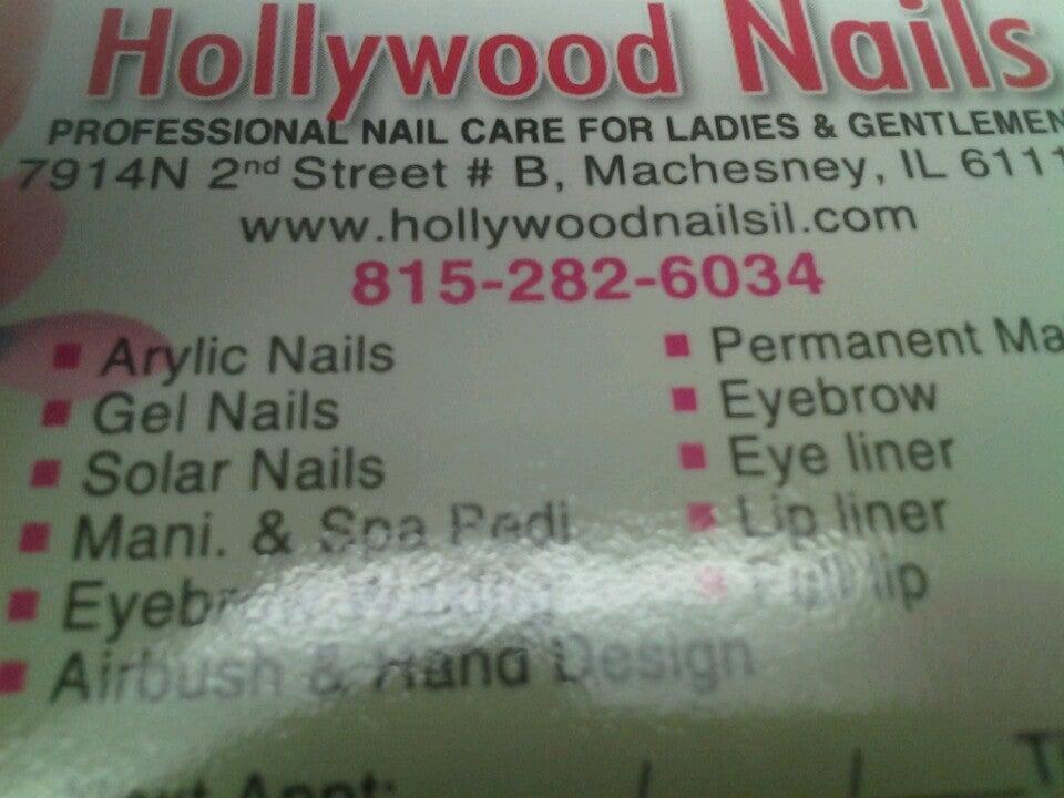 Hollywood Nails,