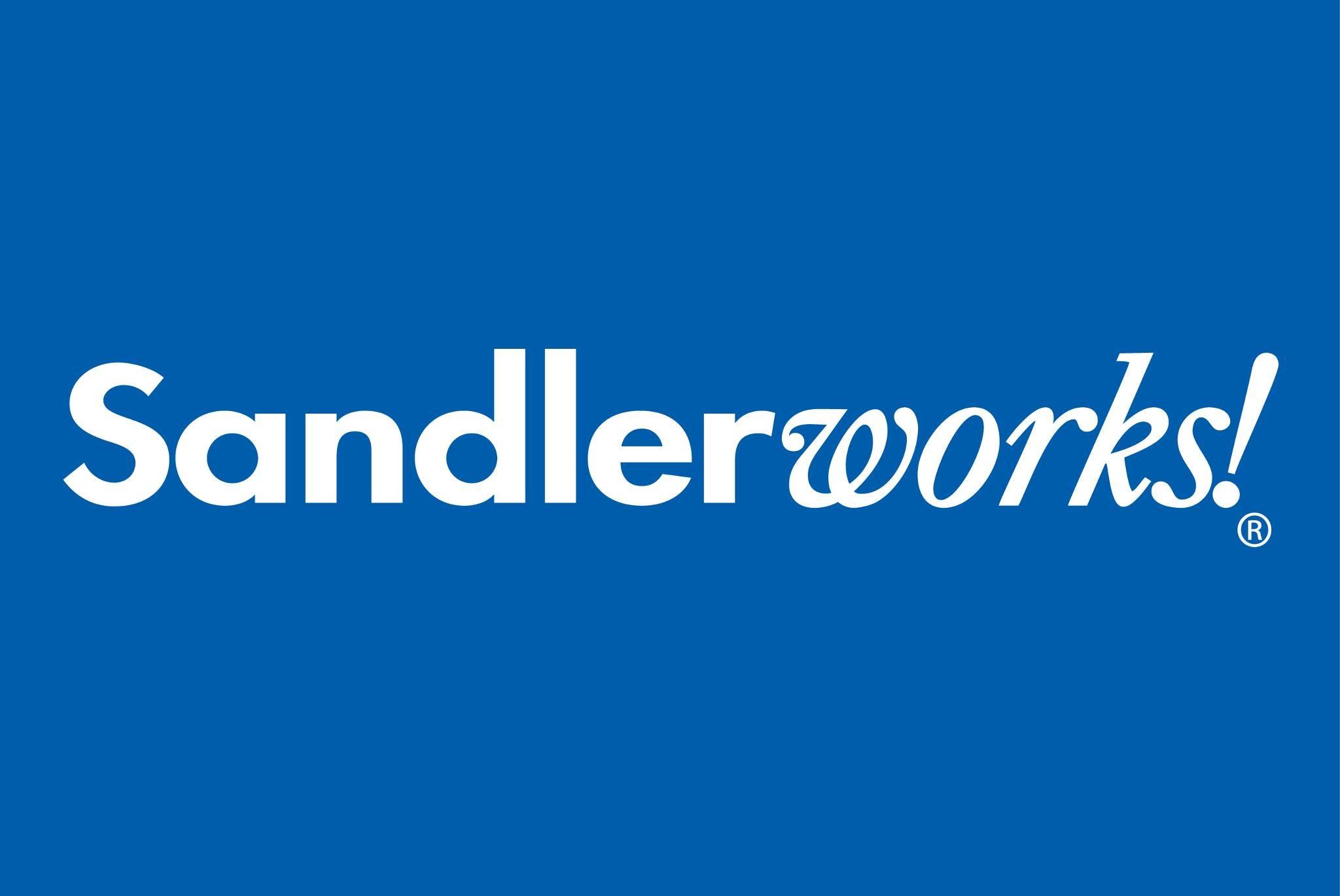 SANDLER TRAINING,sales training,sandler training