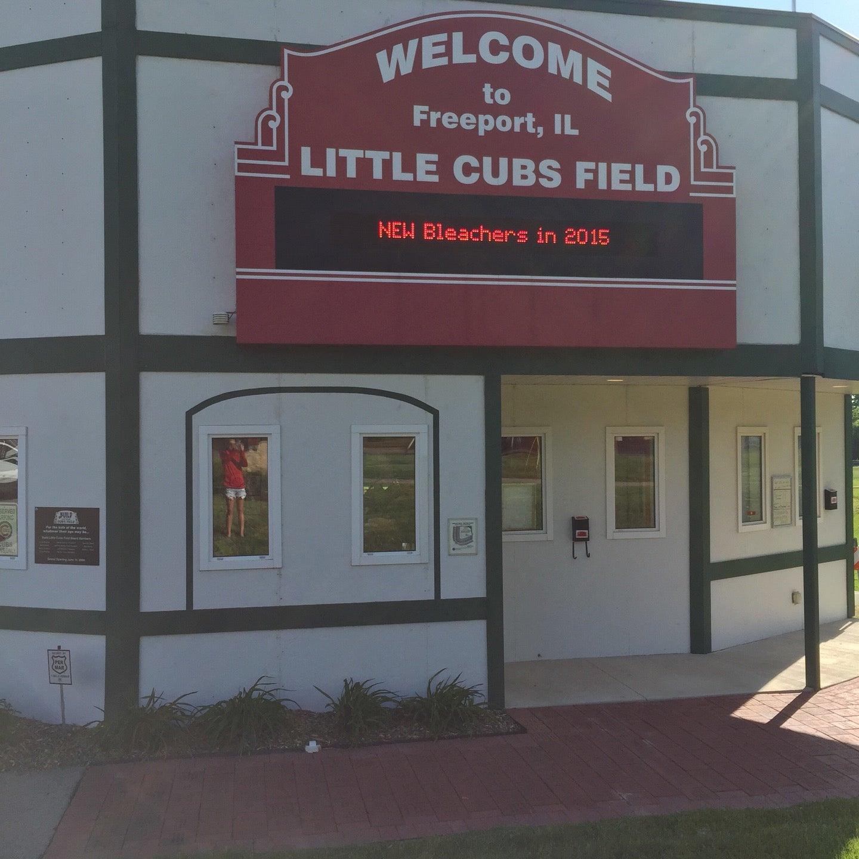 LITTLE CUBS FIELD,baseball,cubs memorabilia,wiffleball