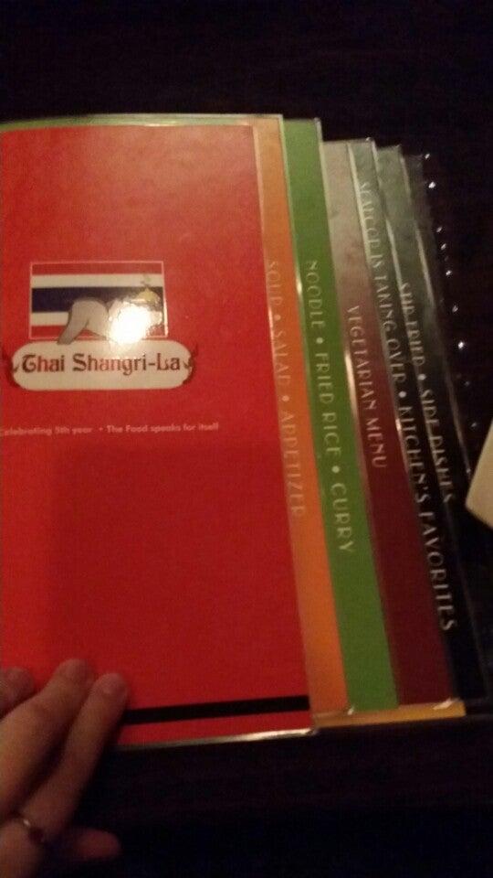 Thai Shangri La Restaurant,thai
