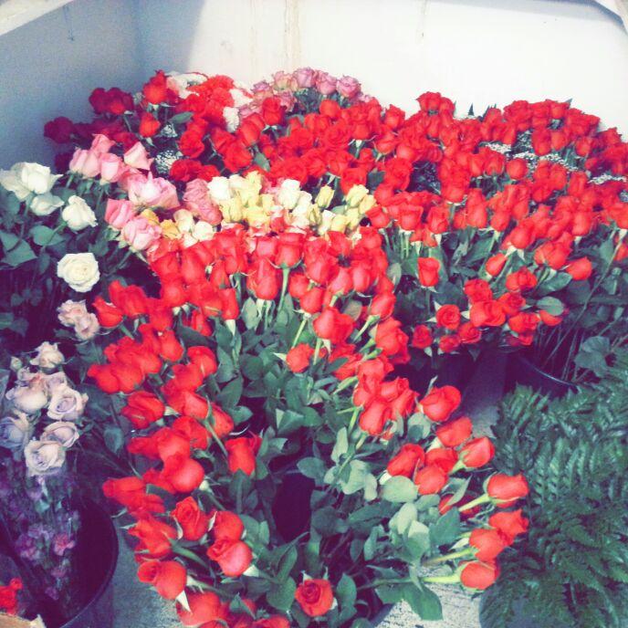 The Flower Market,