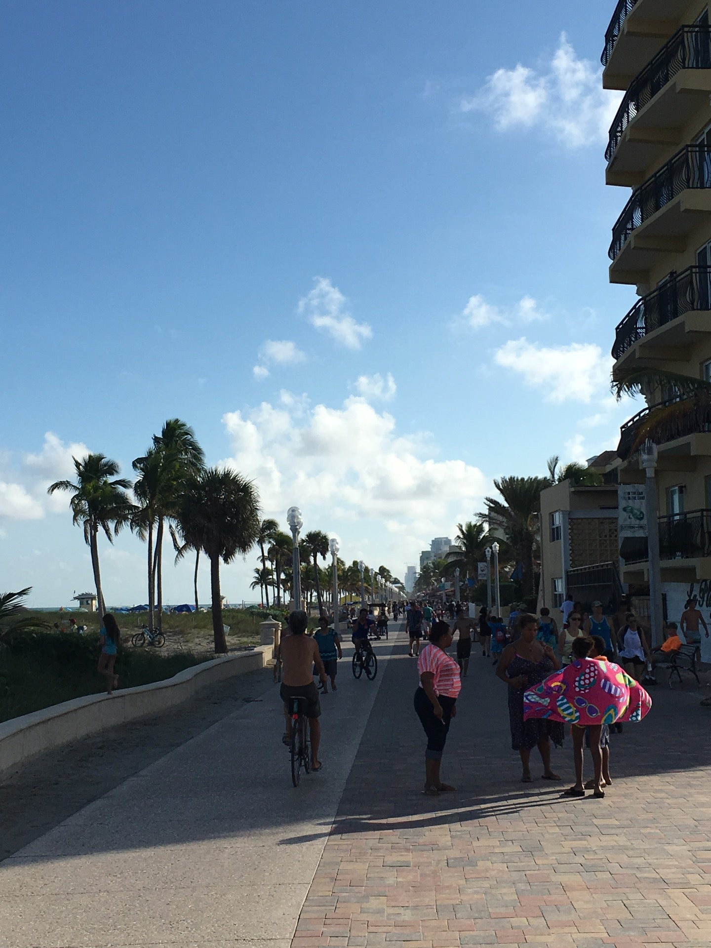 Broadwalk at Hollywood Beach