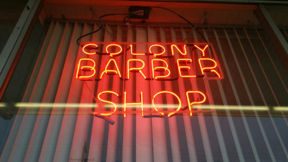 COLONY BARBER SHOP,