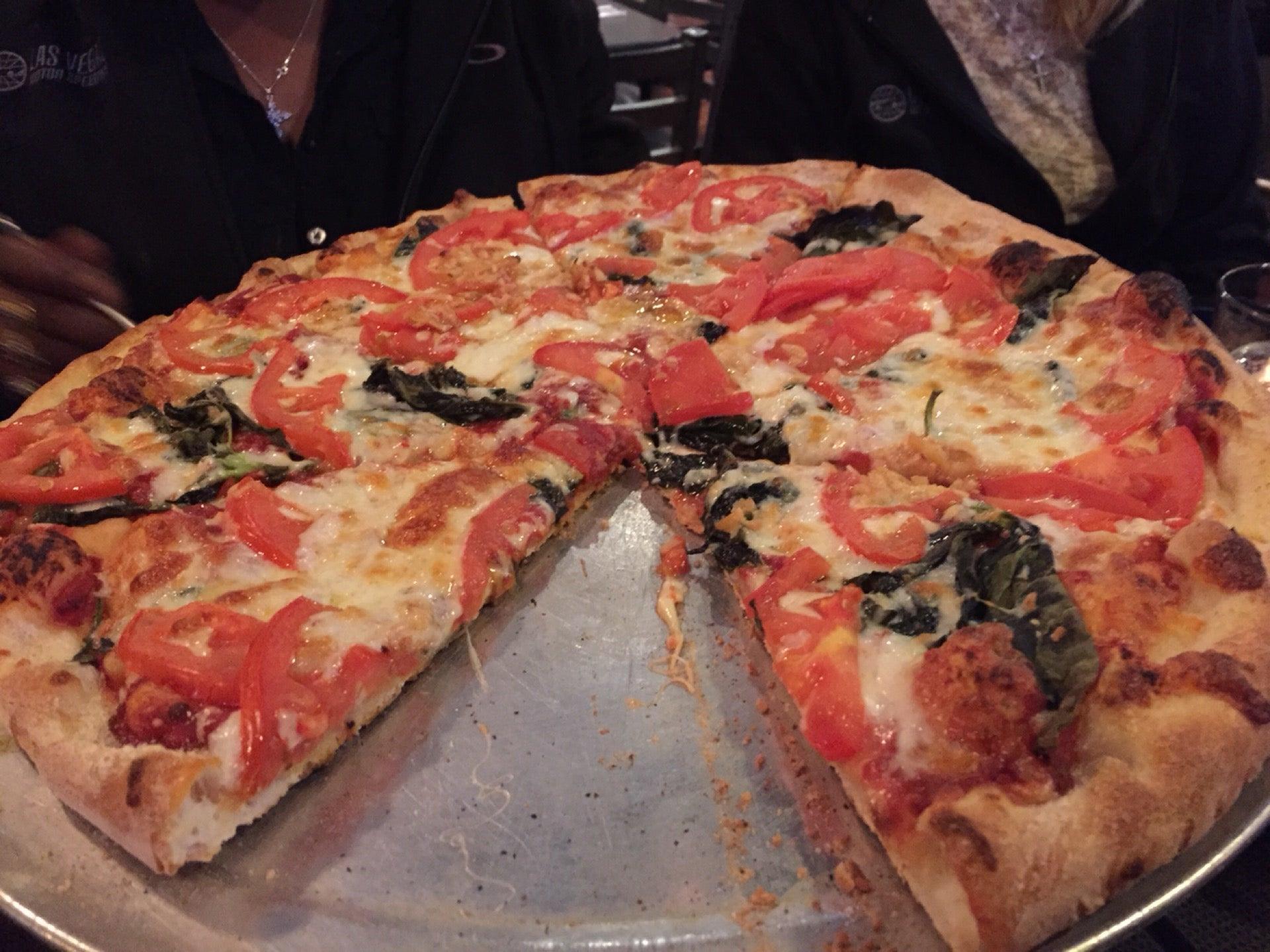 Pepperoni and wild mushroom pizza