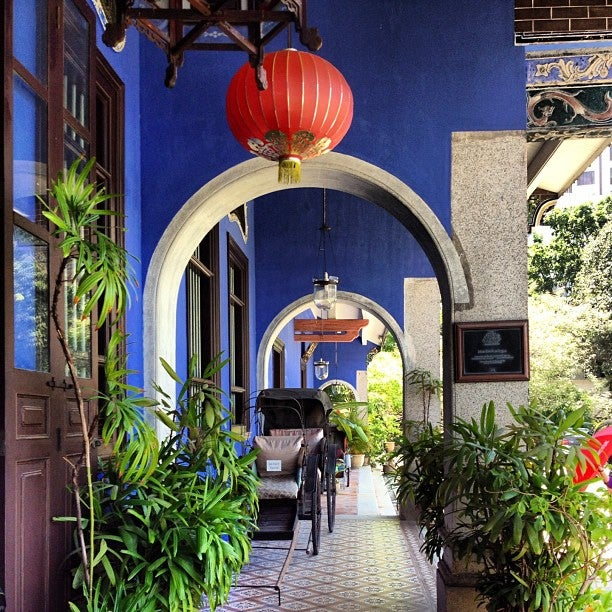 Cheong Fatt Tze Mansion (張弼士故居)