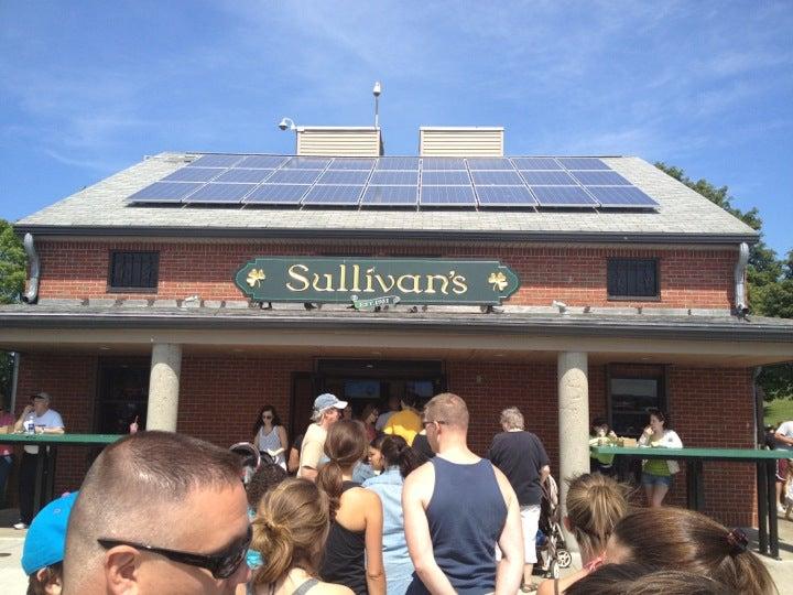 Sullivans At Castle Island,cheeseburger,fast food,historical,hot dog,milkshake