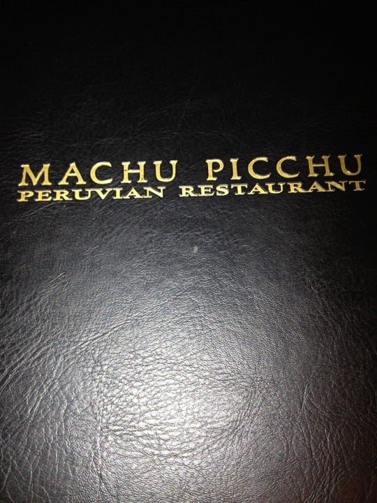 Machu Picchu Peruvian Restaurant,