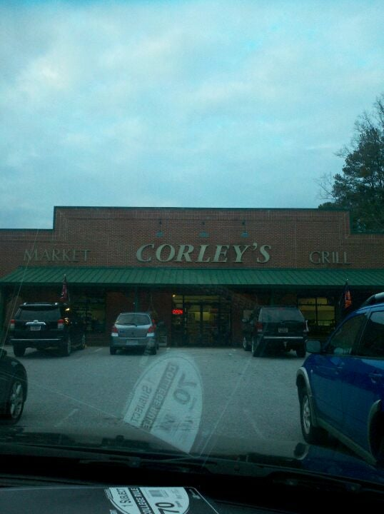 Corley's Market And Grill,full service grocery and grill.