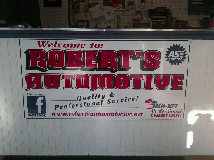 Robert's Automotive Inc,