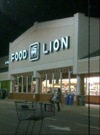 Food Lion Grocery Store,flu shot